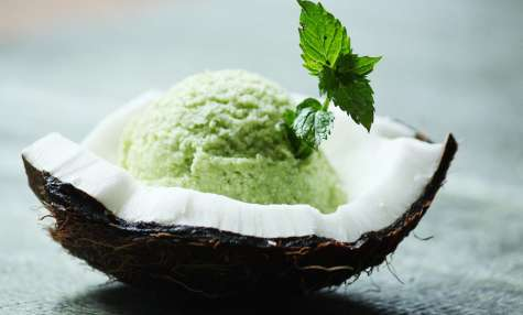 sorbet courgette menthe coco