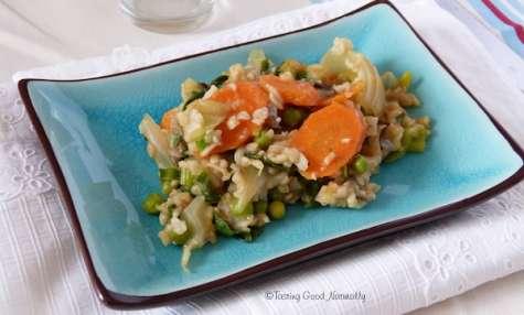 Riz au légumes