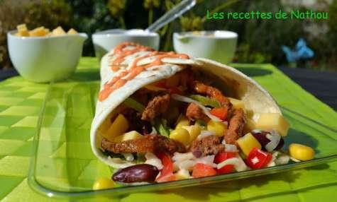Tacos à la mexicaine