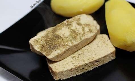 Tofu vapeur mariné au citron et à la citronnelle