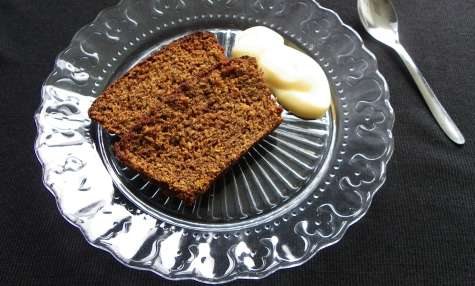 Black Treacle Cake aux épices