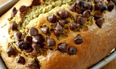 Cake à la courge et pépites de chocolat