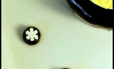 Bavarois chocolat framboise