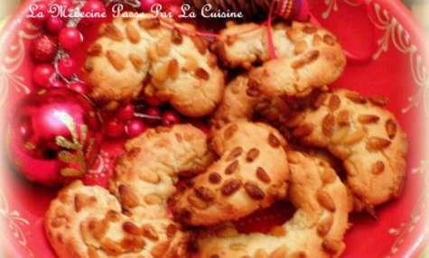 Les croissants aux pignons de Provence (sans gluten)