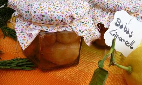 Bocal de babas au Limoncello