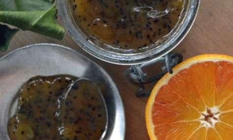 Confiture du matin – kiwis, oranges sanguines
