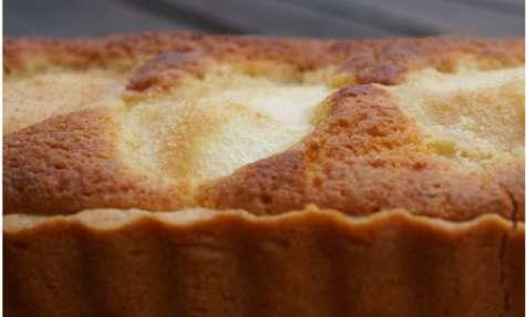 Tarte aux poires noisettine et caramel beurre salé