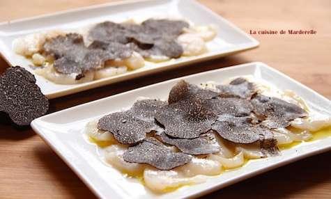 Recettes de saint jacques et de truffes noires - Comment cuisiner les truffes noires ...