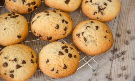 Cookies à la purée d'amande et pépites de chocolat
