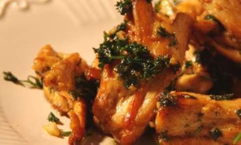Bréchets de poulet de Bresse