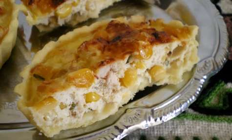 Tartelettes au thon et au maïs
