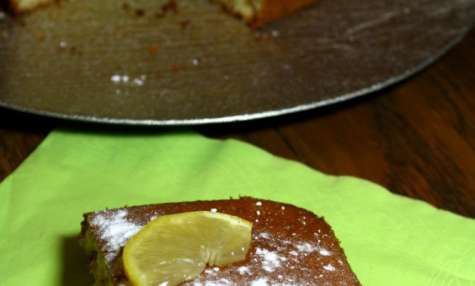 Moelleux à l'huile d'olive au citron de Menton