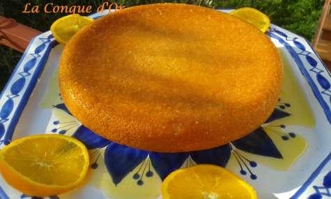Gâteau à l'orange comme un baba