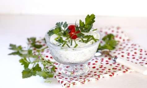 Trifle de crabe aux herbes