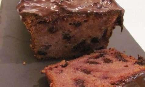 Cake framboise - chocolat