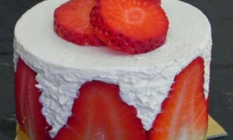 Le fraisier à l'italienne