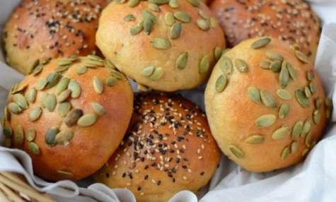 Petits pains de kamut et yaourt