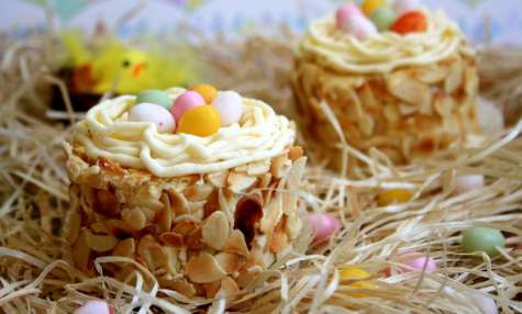 Petits nids de Pâques - Amandine Cooking