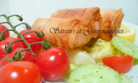 Cigares surimi fromage