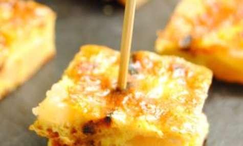 Tortillas pommes de terre, oignons