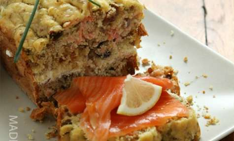 Cake au saumon et au muesli (scandinave)