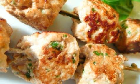 Brochettes de saumon à l'asiatique