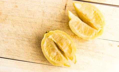 Les citrons confits au sel