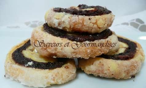 Palmiers au Chocolat