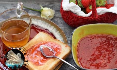 Confiture de fraises à l'ancienne