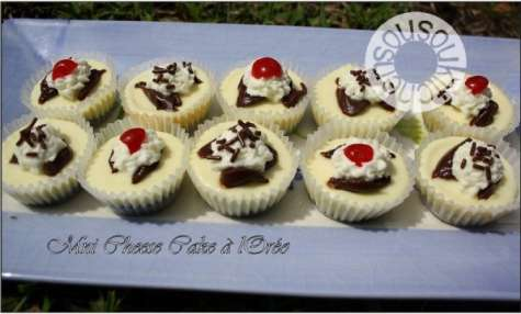 Gateau cheesecake au fromage blanc à l'Oréo