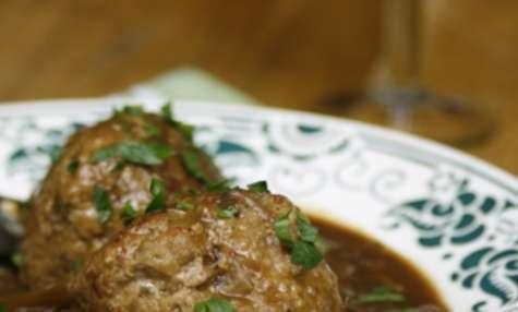 Boulets à la liégeoise, ou boulets sauce lapin