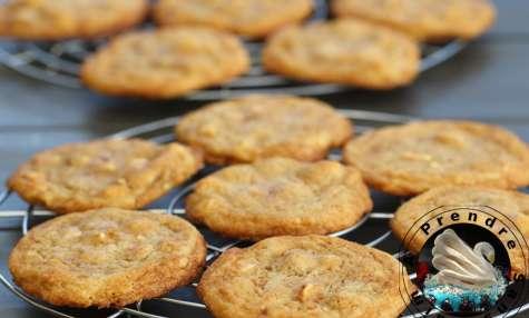 Cookies au café et au chocolat blanc