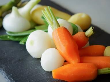 Grammage et proportions des légumes