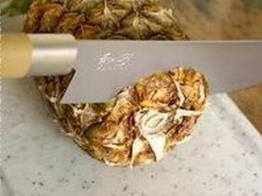Préparer un ananas frais - Etape 1