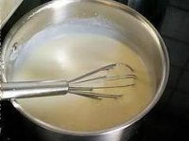 Sauce béchamel - Etape 4