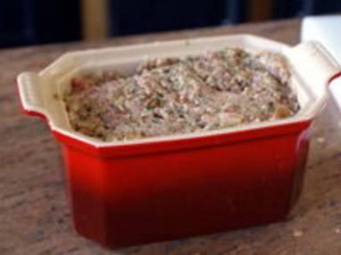 Chapon farci au foie gras : la farce - Etape 12
