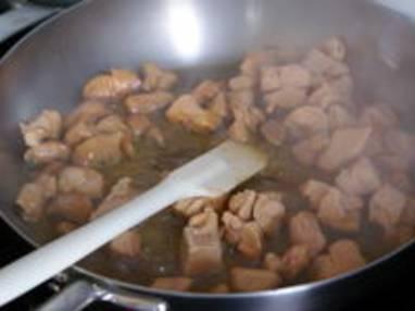 Sauter du foie gras en dés - Etape 2