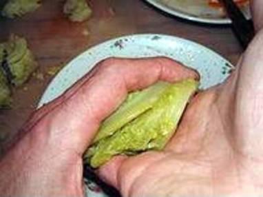 Chartreuse de poule faisane : la mise en place - Etape 5