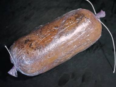 Ballotine de foie gras nature - Etape 8
