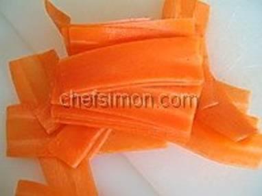 Chartreuse de poule faisane : la mise en place - Etape 2