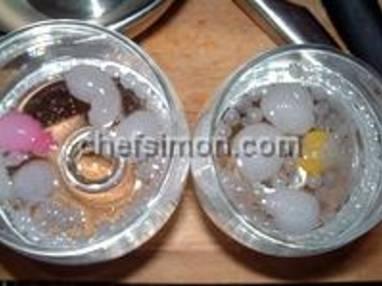 Perles d'alginates fluorescentes - Etape 3
