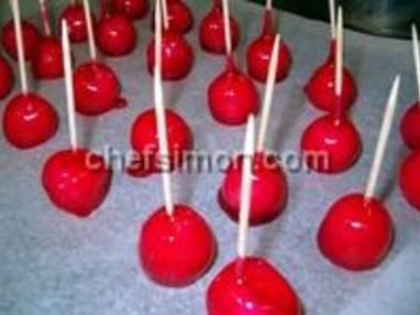 Pommes d'amour - Etape 8