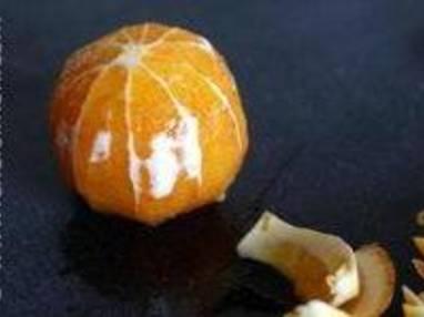 Peler une orange à vif - Etape 6