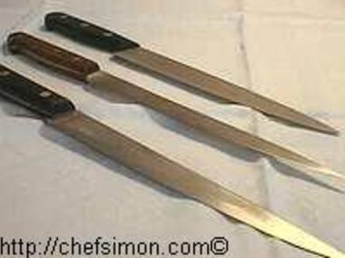 Couteaux de cuisine - Etape 14