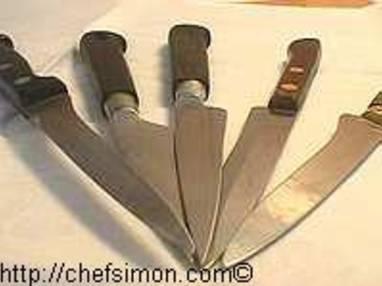 Couteaux de cuisine - Etape 9
