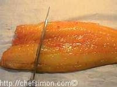 Filet de haddock poché au lait - Etape 3