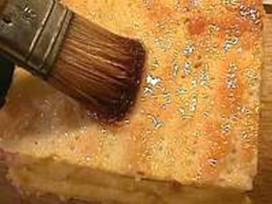 Glacer et marbrer un millefeuille - Etape 3