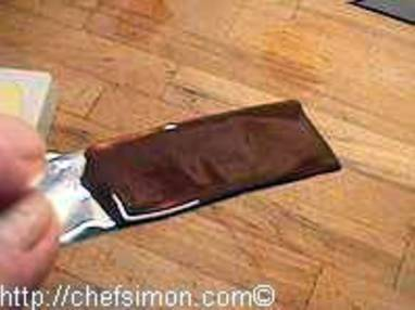 Enrobage chocolat - Etape 2