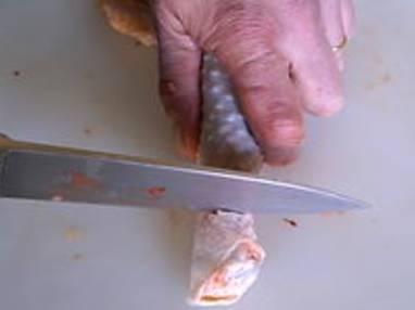 Désosser une cuisse de volaille pour farcir - Etape 13