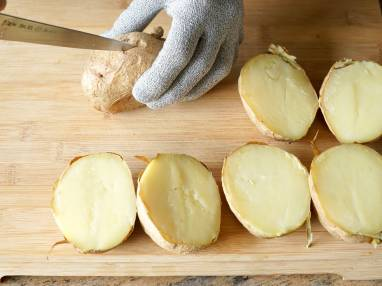 Pommes de terre au four - Etape 3